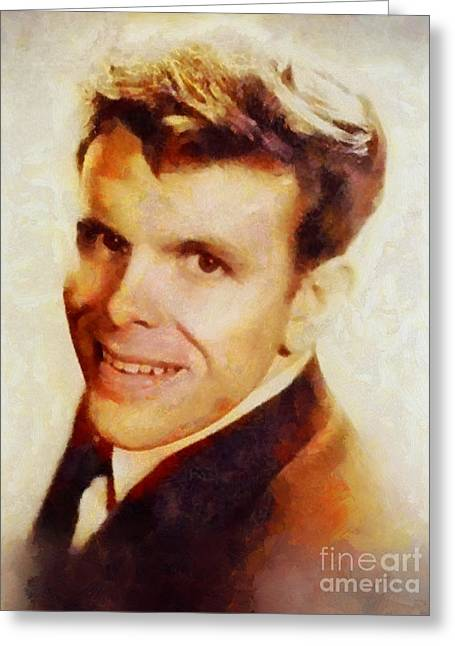 Del Shannon, Music Legend Greeting Card by Sarah Kirk