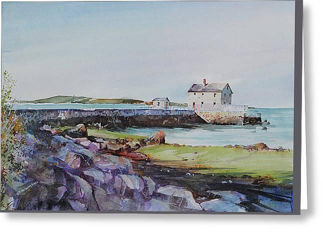 Delano's Wharf At Rock Nook Greeting Card