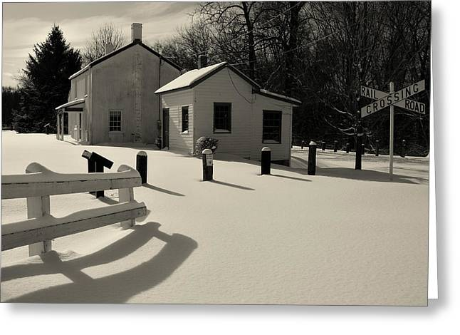 Greeting Card featuring the photograph Delaware And Raritan Canal 3 by Steven Richman