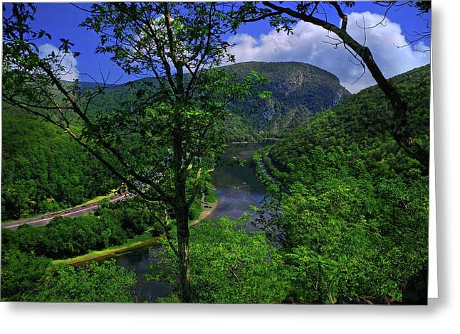 Delaware Water Gap Greeting Card