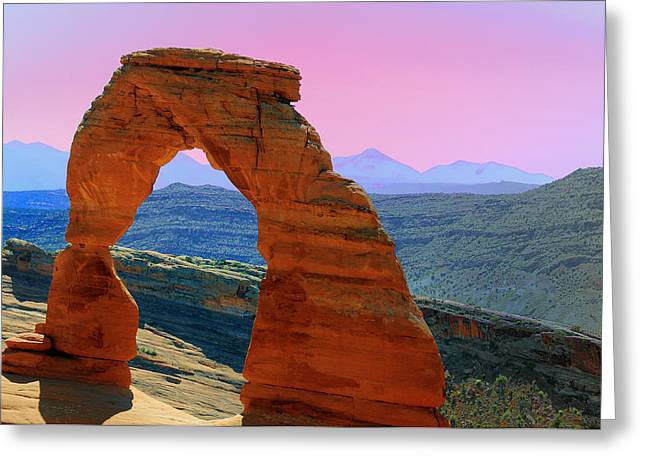 Delicate Arch  --  Arches National Park Greeting Card