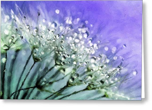 Delicate Dandelions Greeting Card