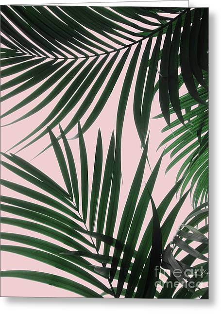 Delicate Jungle Theme Greeting Card