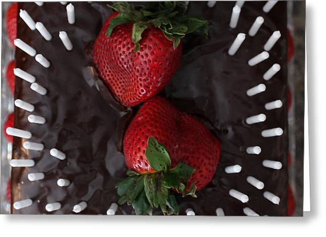 Delicious Cake Greeting Card