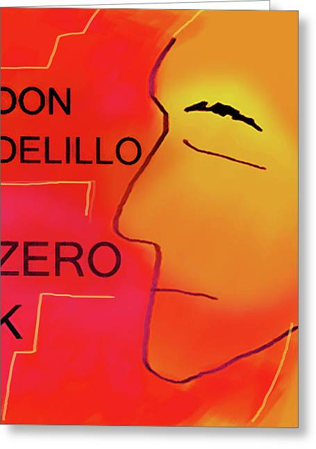Delillo Zero K Poster  Greeting Card