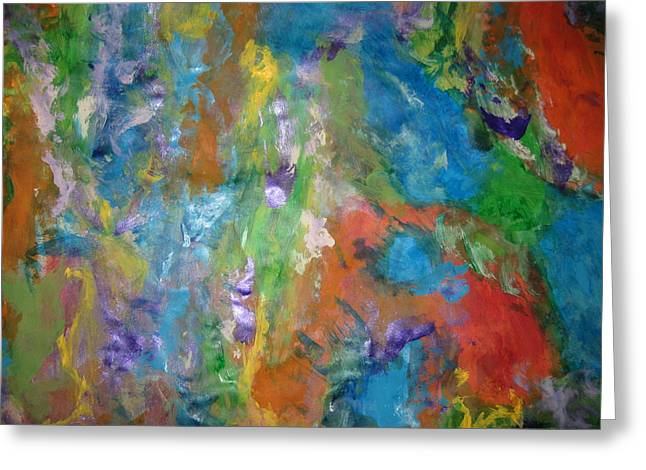 Art Of Soul Music Greeting Cards - Delirious  Passion Greeting Card by Paula Andrea Pyle