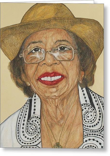 Della Willis Portrait Greeting Card