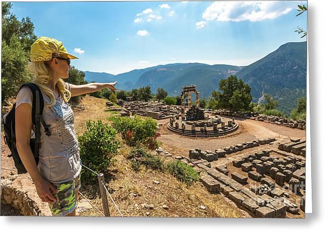 Delphi Greeting Card