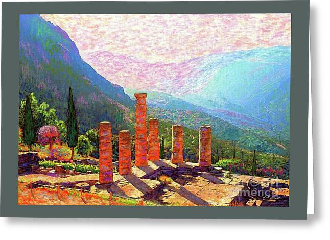 Delphi Magic Greeting Card