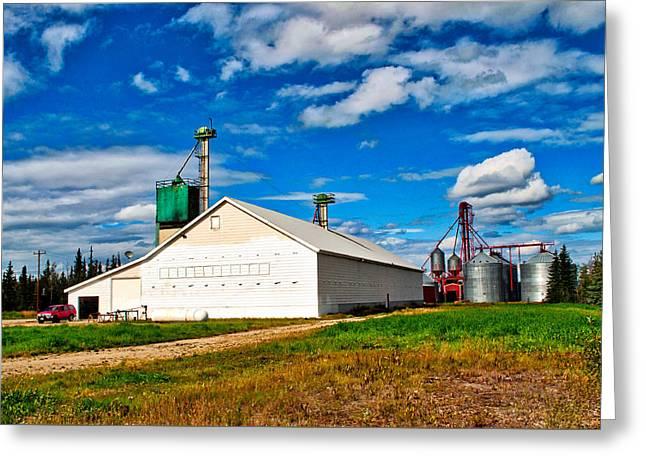 Delta Farmers Co Op Greeting Card