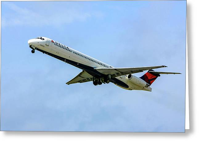 Delta Md88 Greeting Card