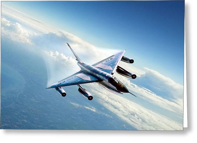 Delta Wing Wonder Greeting Card