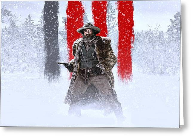 Demian Bichir The Hateful Eight Greeting Card by Movie Poster Prints