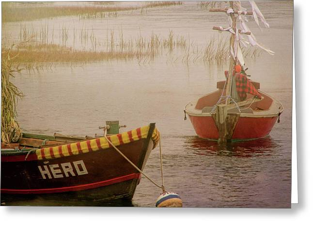 Dennisport Marsh Greeting Card by JAMART Photography