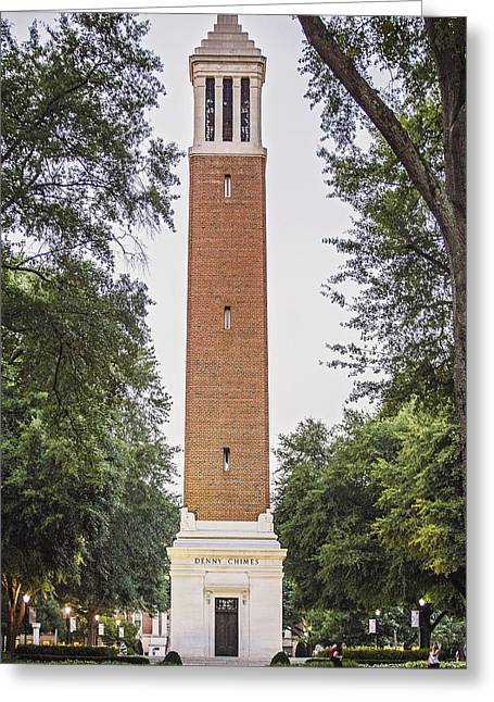Denny Chimes 02 Greeting Card by Iullia Kovalenko