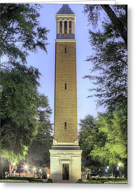 Denny Chimes Greeting Card by JC Findley