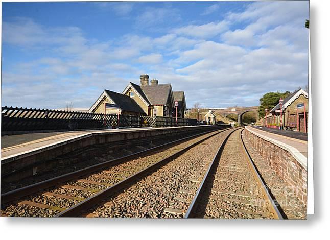 Dent Railway Station Greeting Card