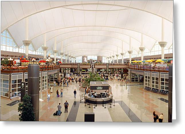 Denver Airport, Colorado Greeting Card by Panoramic Images