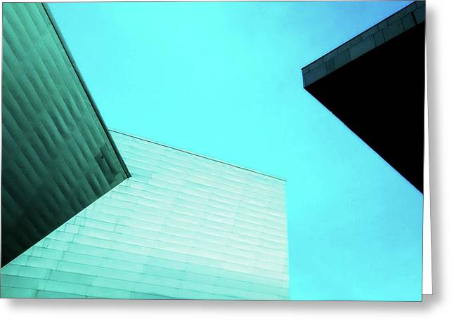 Greeting Card featuring the photograph Denver Art Museum Hamilton by Marilyn Hunt