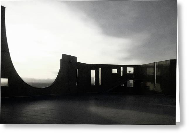 Greeting Card featuring the photograph Denver Art Museum Ponti 2 by Marilyn Hunt