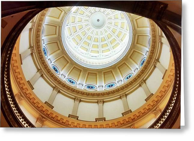 Denver Capitol Dome 1 Greeting Card