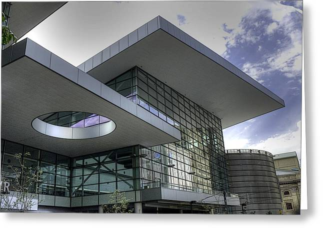 Denver Convention Center Greeting Card by David Bearden