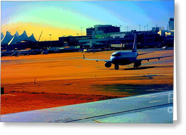 Denver International Airport Greeting Card