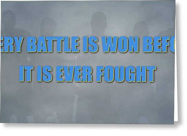 Denver Nuggets Battle Greeting Card by Joe Hamilton