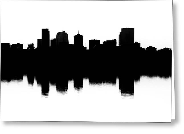 Denver Silhouette Greeting Card