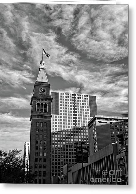 Denver Tower Greeting Card