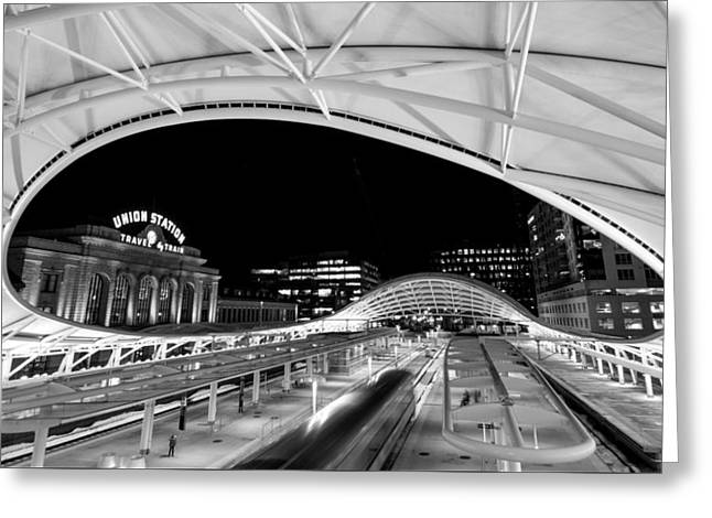 Denver Union Station 1 Greeting Card
