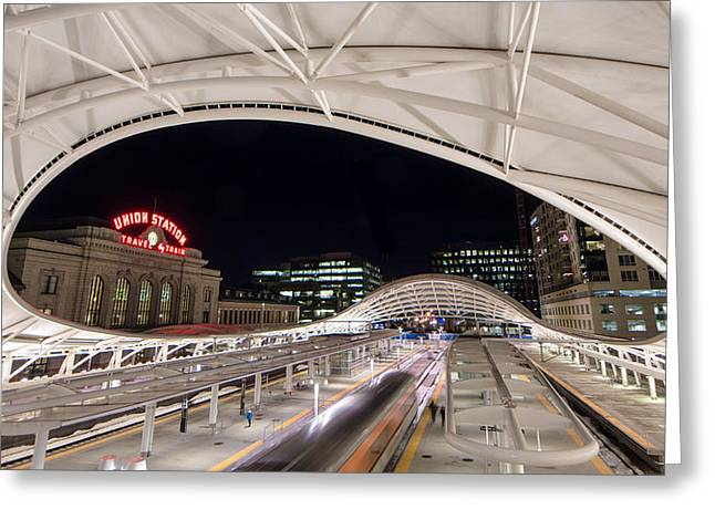 Denver Union Station 3 Greeting Card