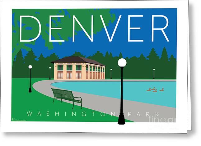 Denver Washington Park Greeting Card