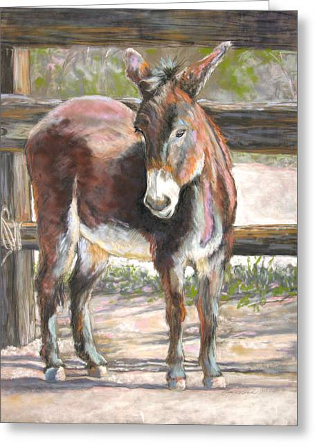 Deo Doro Greeting Card by Carole Haslock