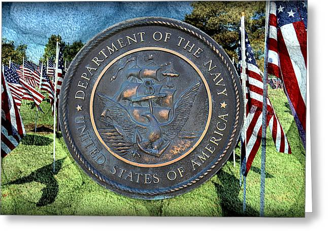 Department Of The Navy - United States Greeting Card