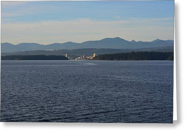 Departure Bay Greeting Card by Richard Andrews