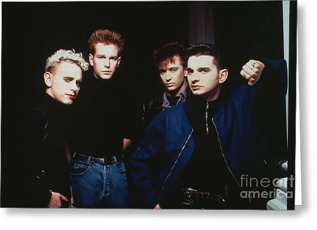 Depeche Mode Greeting Card