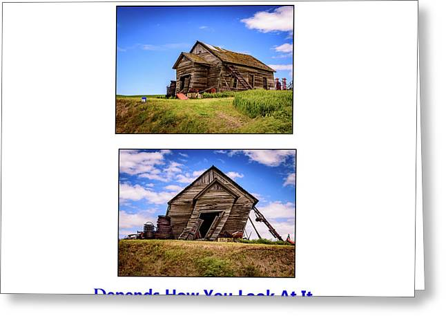 Depends - The Palouse Greeting Card