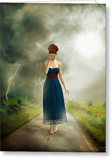 Opposite greeting cards page 4 of 28 fine art america depression greeting card m4hsunfo
