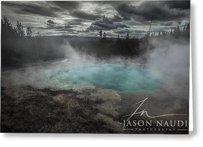 Greeting Card featuring the photograph Depth by Jason Naudi