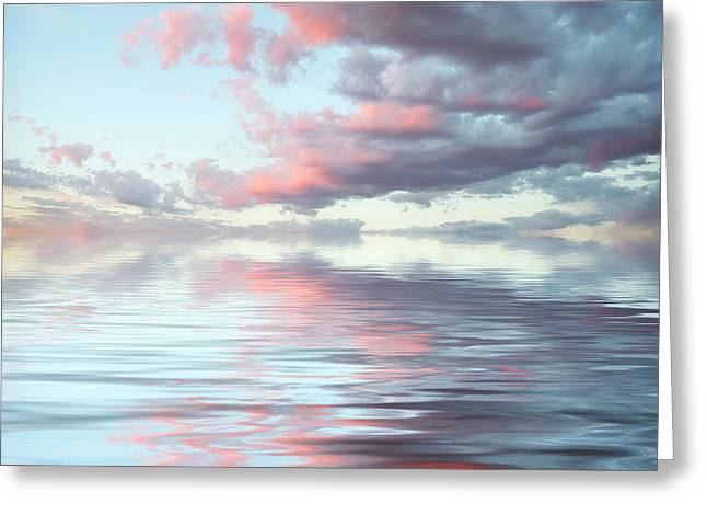 Depth Greeting Card by Jerry McElroy