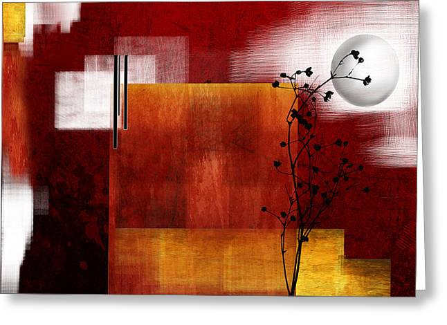 Depth Of The Twilight Greeting Card by Art Spectrum