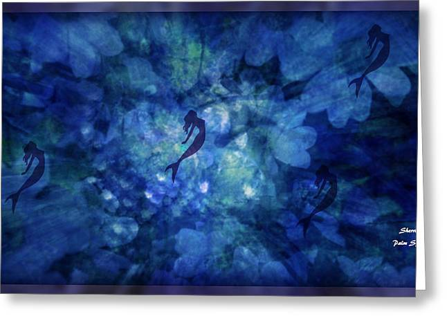 Depth Of Underwater Beauty Greeting Card