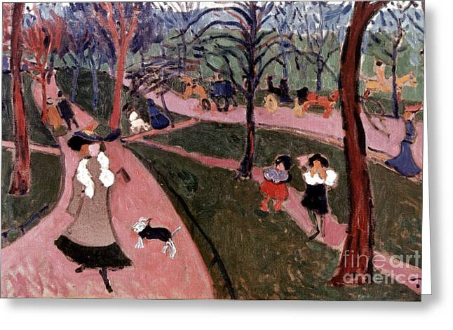 Derain: Hyde Park Greeting Card by Granger