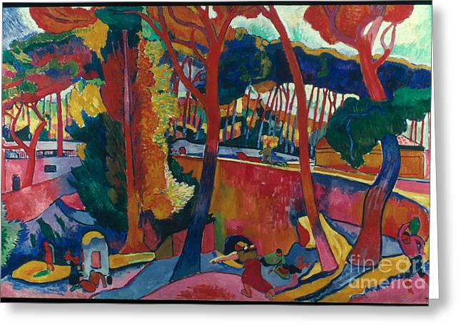 Derain: Lestaque, Greeting Card by Granger