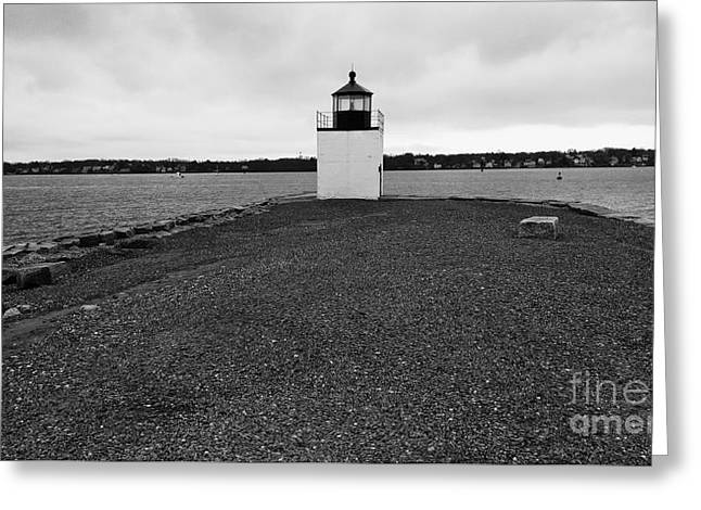 Derby Wharf Lighthouse Greeting Card