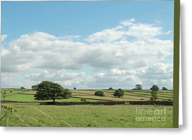 Derbyshire Landscape Greeting Card