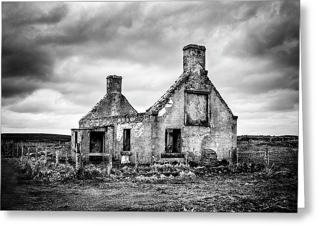 Derelict Croft Greeting Card