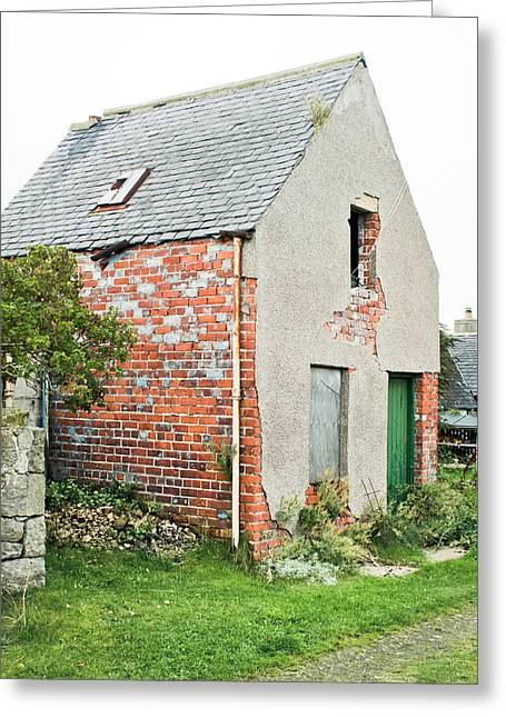 Derelict Hut Greeting Card by Tom Gowanlock