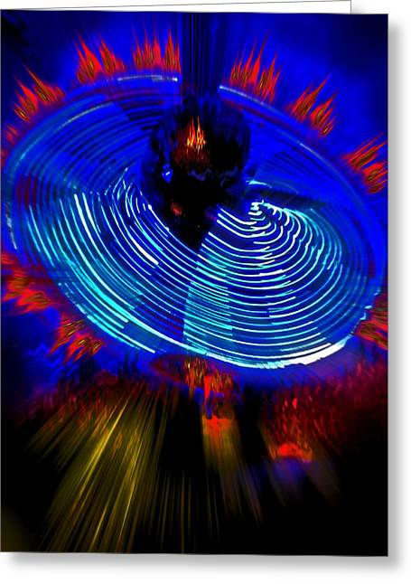 Dervish. Fire Dance. Greeting Card by Andy Za